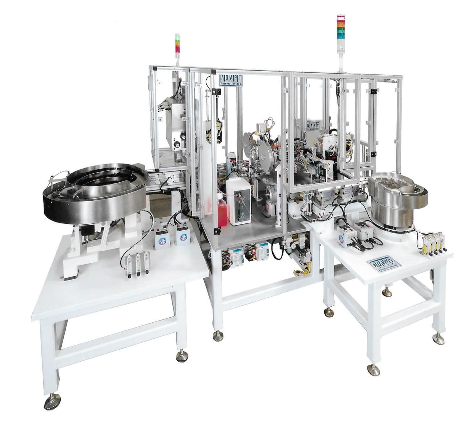 Capsule Vial Fill Seal and Label Machine adapt automation