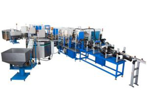 Automotive Oil Filter Assembly Line adapt automation