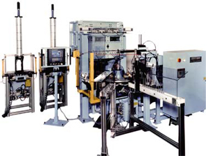 Powder Fill Machine and Crimping Press adapt automation