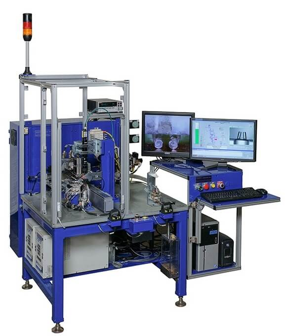 Aerospace Igniter Side and Top Bridge Welding Machine adapt automation